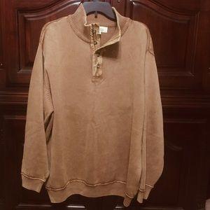 Cabela's Men's 4 Button Sweater Sandwashed
